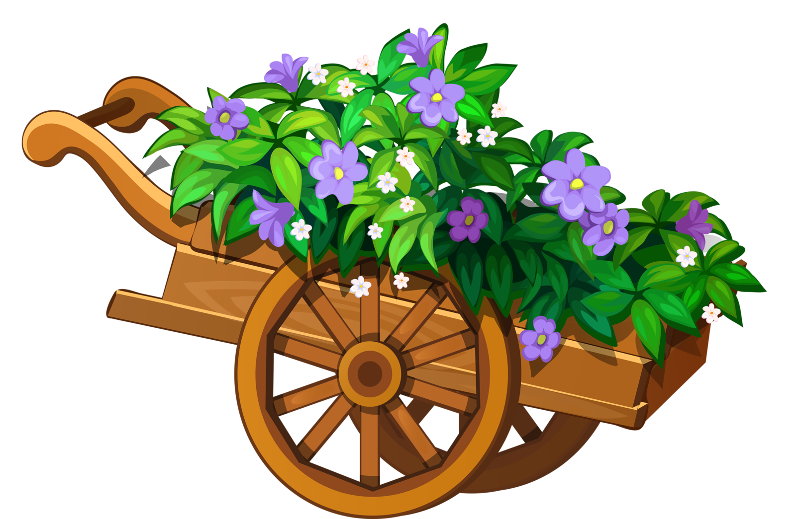 Flower Garden Clipart at GetDrawings | Free download