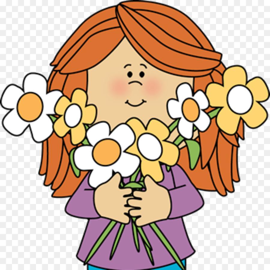 900x900 Flower Girl Child Clip Art