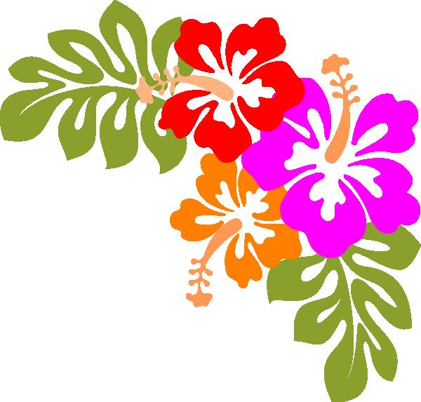 600x573 Hibiscus Flower Clipart