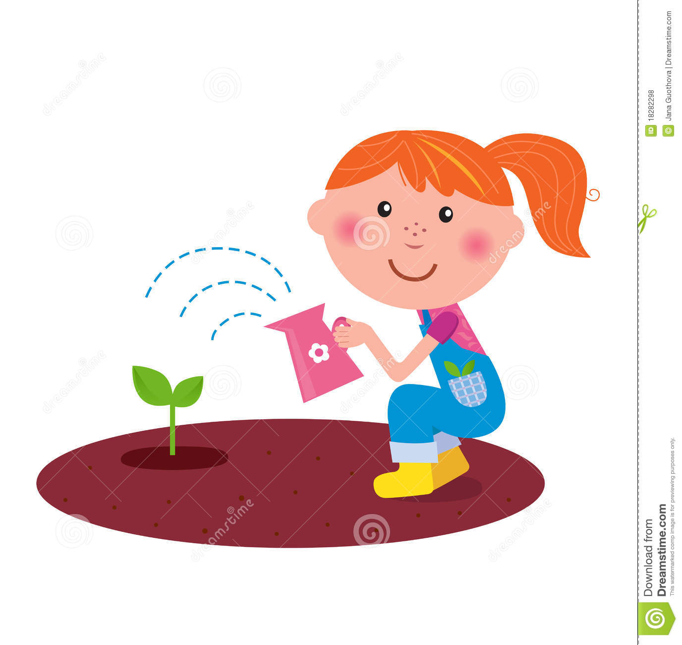 1376x1300 Kids Planting Flowers Clipart