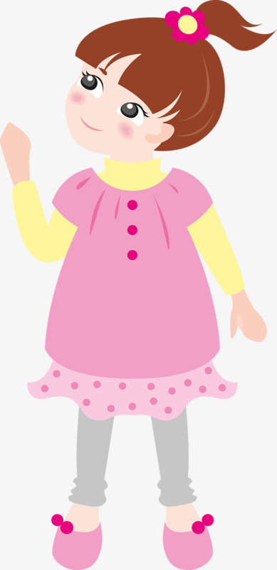 389x800 Wear Pink Flower Girl, Pink, Flower Power, Girl Png Image