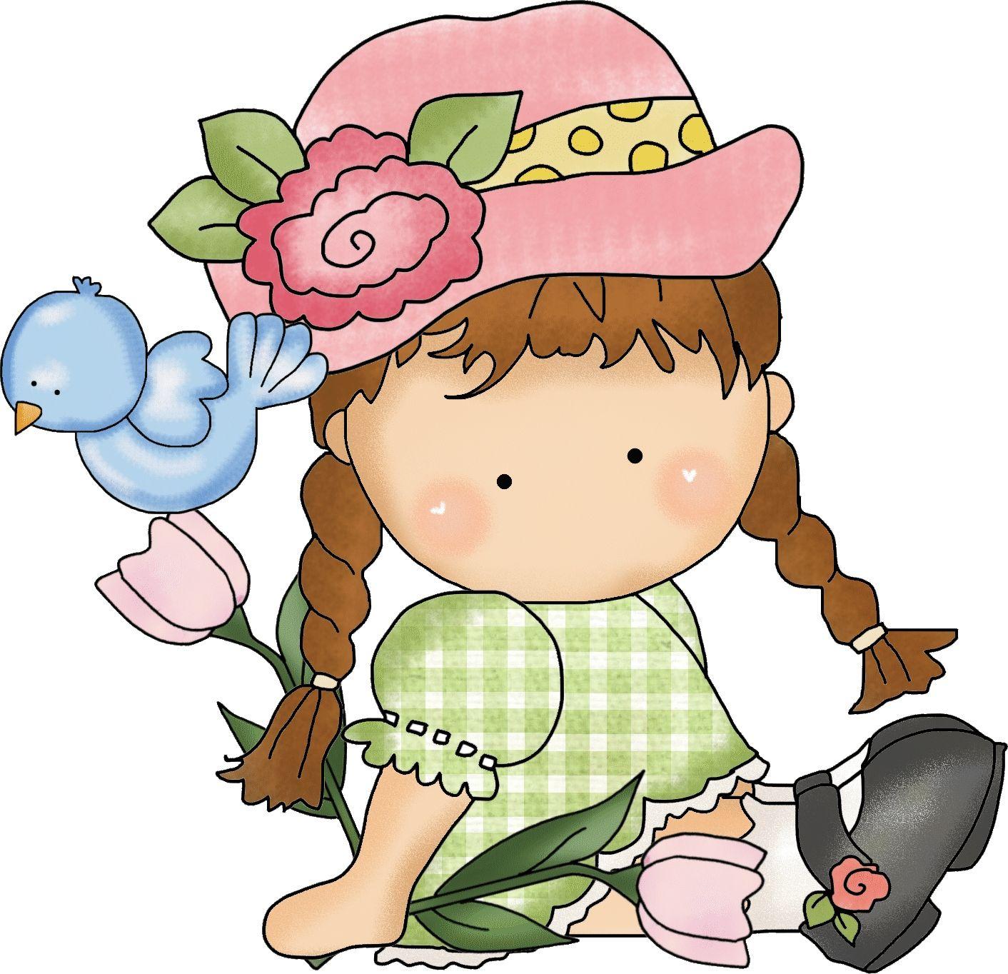1412x1364 Flower Girl 1 Country Flower, Girls And Clip Art