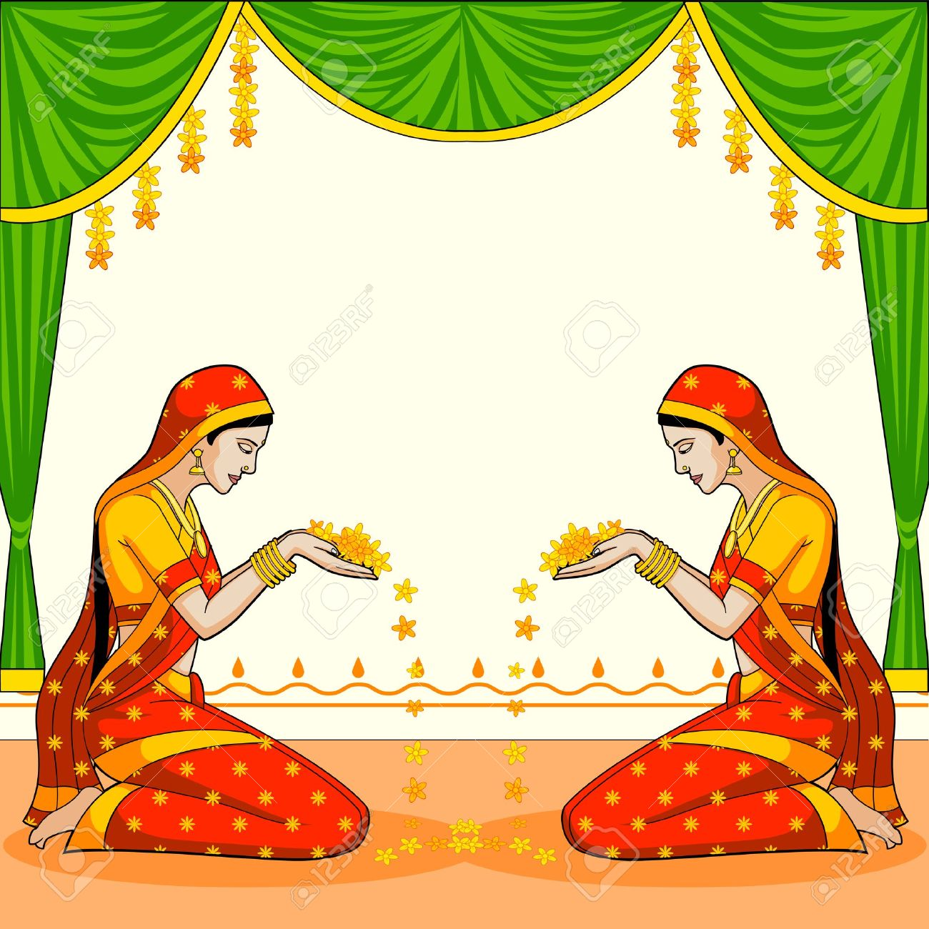 1300x1300 Welcome Girl Clipart 2dc0ac9c741200a15380c1cb269c447c Indian Woman