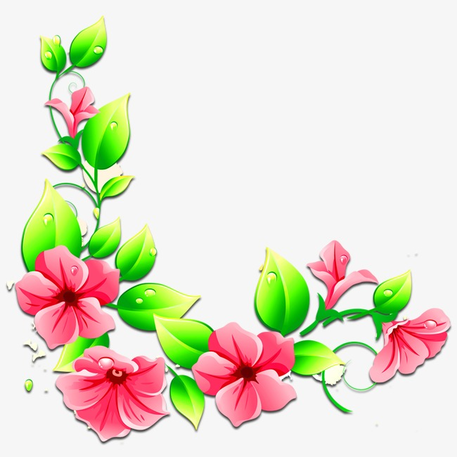 650x650 Flower Pattern, Pink Flowers, Pink, Flowers Png Image And Clipart