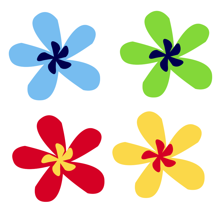 900x900 Flower Pattern Cliparts