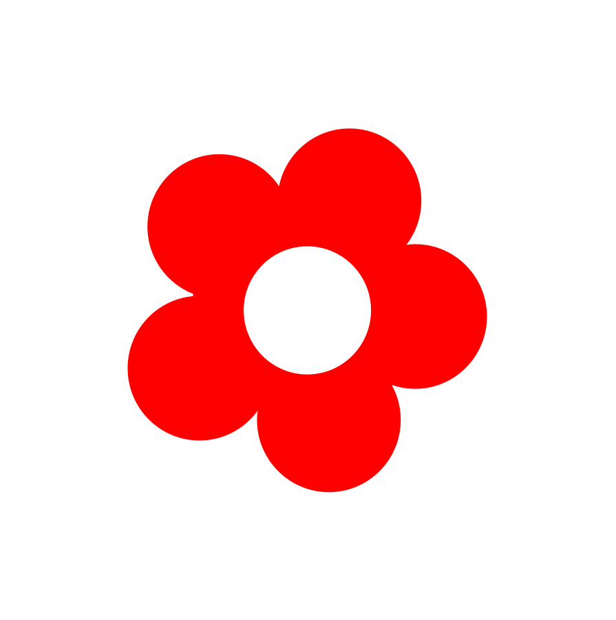 895x900 Flower Vector Clipart
