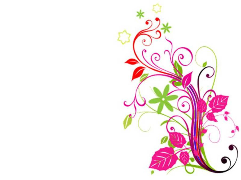 1024x768 Collection Of Clipart Corner Borders Flowers High Quality