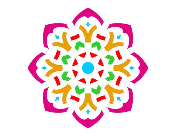 600x464 Rangoli Clipart Flower Amp Rangoli Clip Art Flower Images