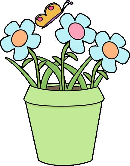 432x550 Clipart Flower And Pot Gardening Flower Pot Clip Art Gardening