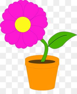 260x320 Flowering Pot Plants Flowerpot Clip Art