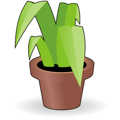 400x400 Free Flower In A Pot Clipart And Vector Graphics