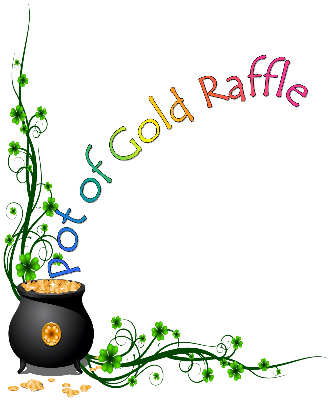 1316x1598 Improved Pictures Of Pots Gold Free Rainbow And Pot Clipart