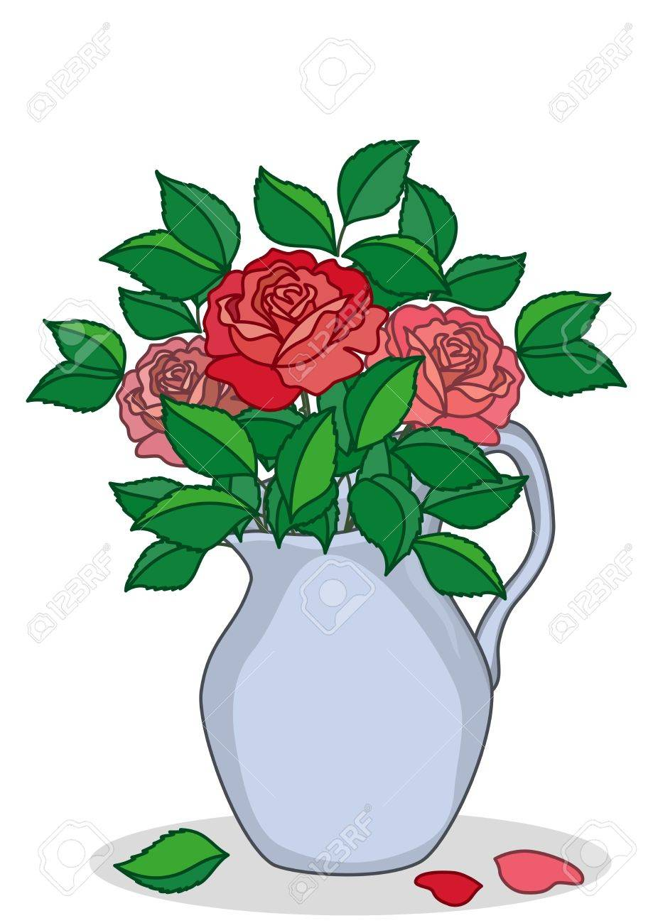 919x1300 Jug Clipart Free Download Clip Art On Flower