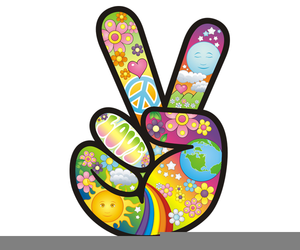 300x250 Flower Power Clipart Free Free Images