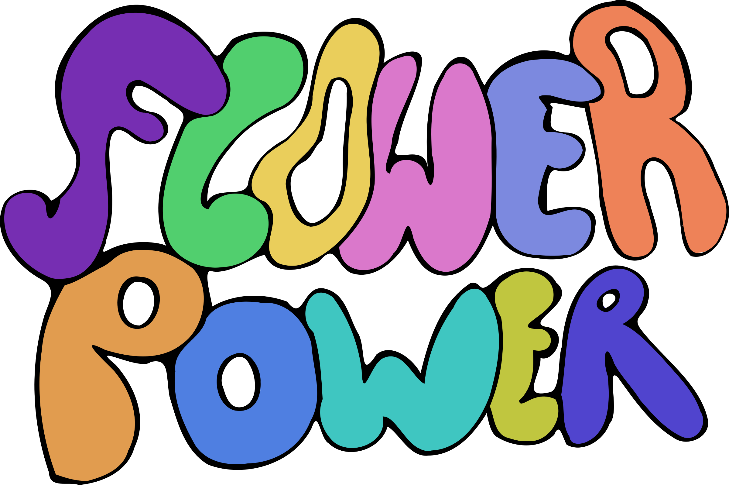 2400x1596 Flower Power Icons Png