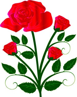 250x315 Free Flower Clipart