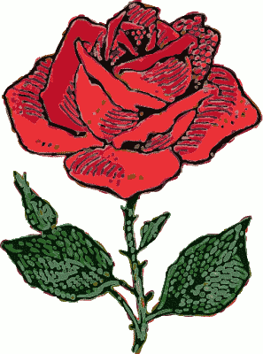 297x400 Free Rose Clipart