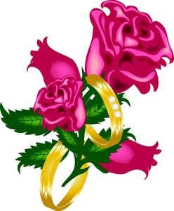 248x300 Free Wedding Flower Clipart
