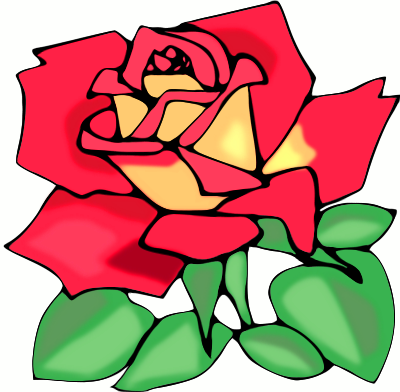 400x392 Image Of Rose Clipart