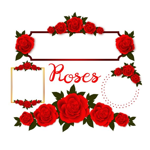 570x570 Rose Embellishments