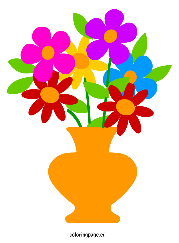 Flower Vase Clipart At Getdrawings Free For Personal Use