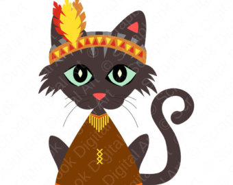 340x270 Collection Of Thanksgiving Cat Clipart High Quality, Free