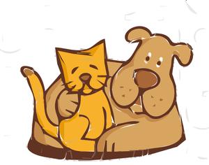 300x236 7309 Cartoon Sleeping Cat Clip Art Public Domain Vectors