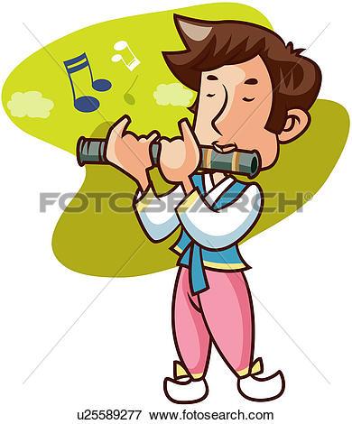 390x470 Flute Clipart Instrumental Music