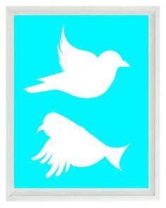 236x295 Flying Bird Line Art
