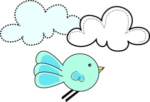 300x205 Free Bluebird Of Happiness Clipart Image 0515 1003 1906 0354