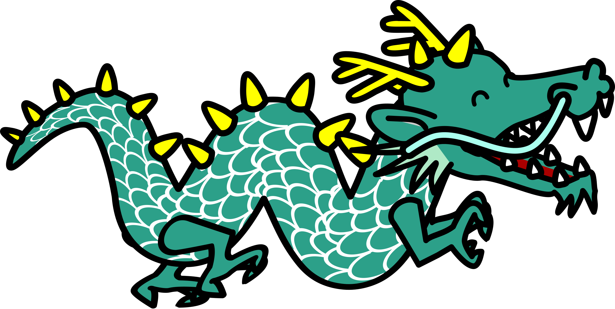 2400x1206 Dragon Clipart Images 101 Clip Art
