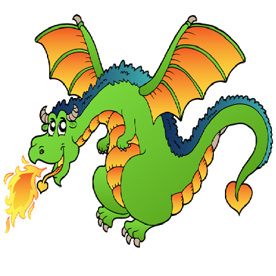 400x400 Dragon Fire Clipart Collection