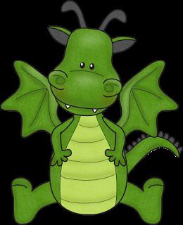 260x320 Little Dragon Clipart