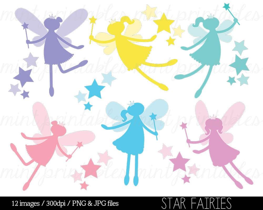 1000x800 Fairy Silhouette Digital Clipart Clip Art Fairies Tearing Free