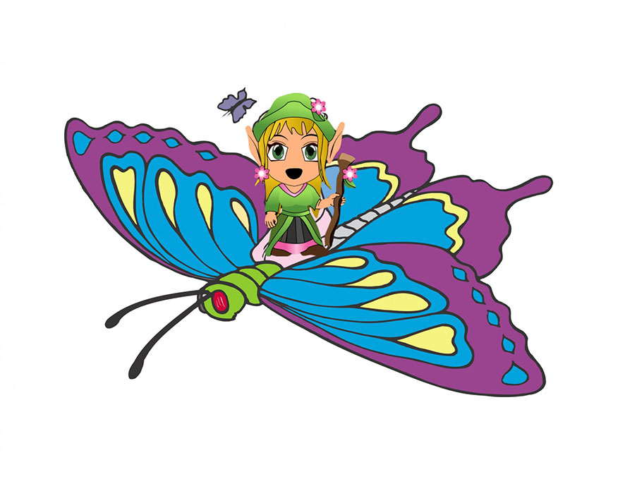 886x696 Butterfly Clipart