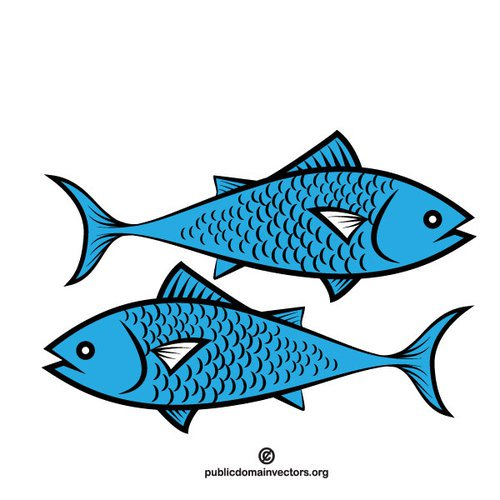 Flying Fish Clipart