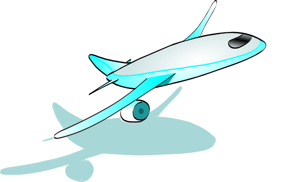 600x370 Airplane Clipart Flying Pencil And In Color Moving