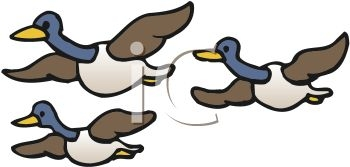350x167 Clipart Geese Flying In Formation