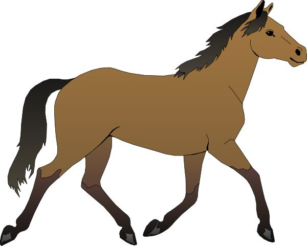Flying Horse Clipart