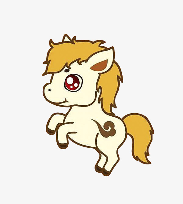600x670 Flying The Cartoon Horse, Horse, Lovely, Cartoon Png Image