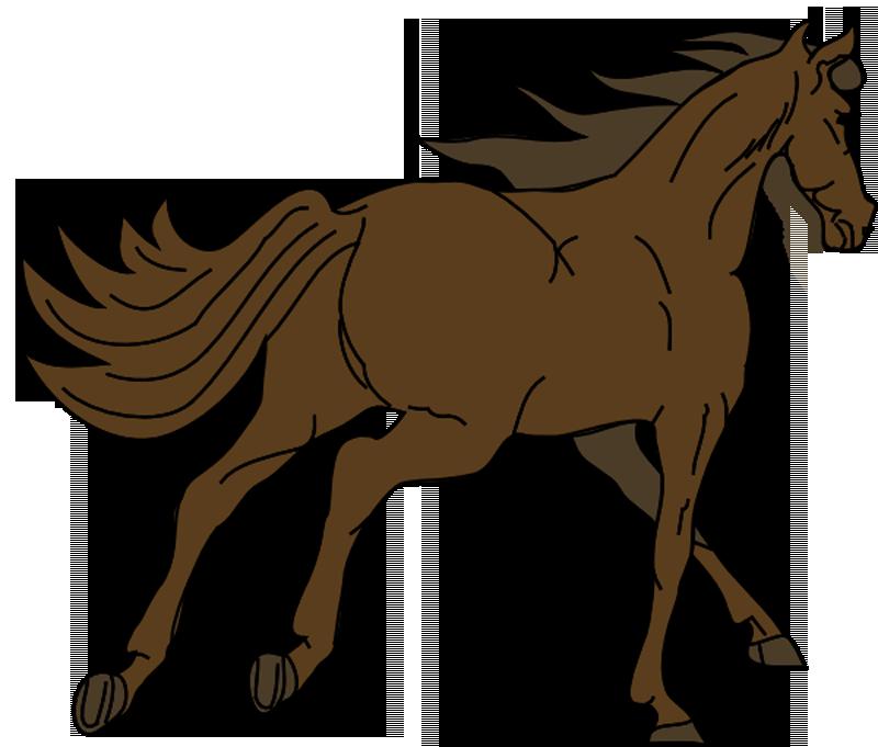 800x681 Mustang Horse Clipart
