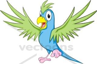 320x213 Flying Parrot