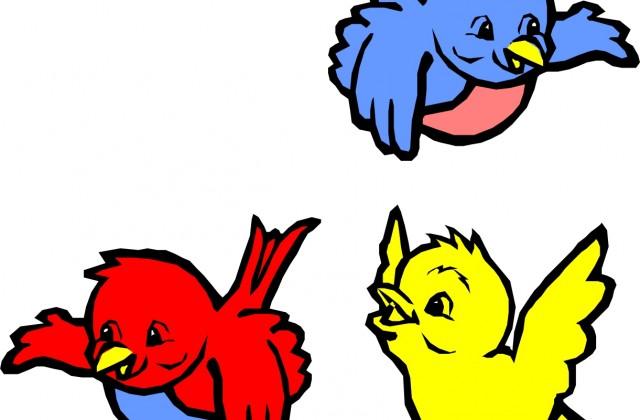 640x420 Flying Parrot Clip Art