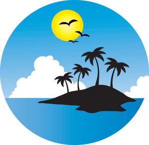 300x293 Free Island Clipart Image 0071 1012 0821 0312