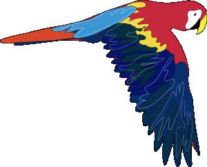 300x242 Parrot Clip Art