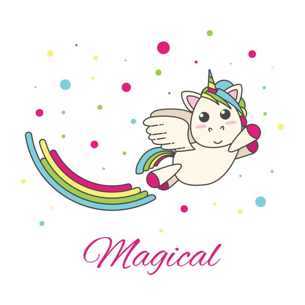 1024x1024 Flying Unicorn With A Rainbow Unicorns And Rainbows