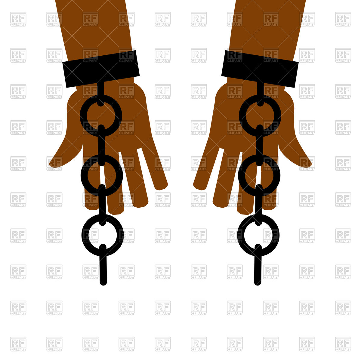 1200x1200 Emancipation From Slavery Break Free. Chains On Slave Hands