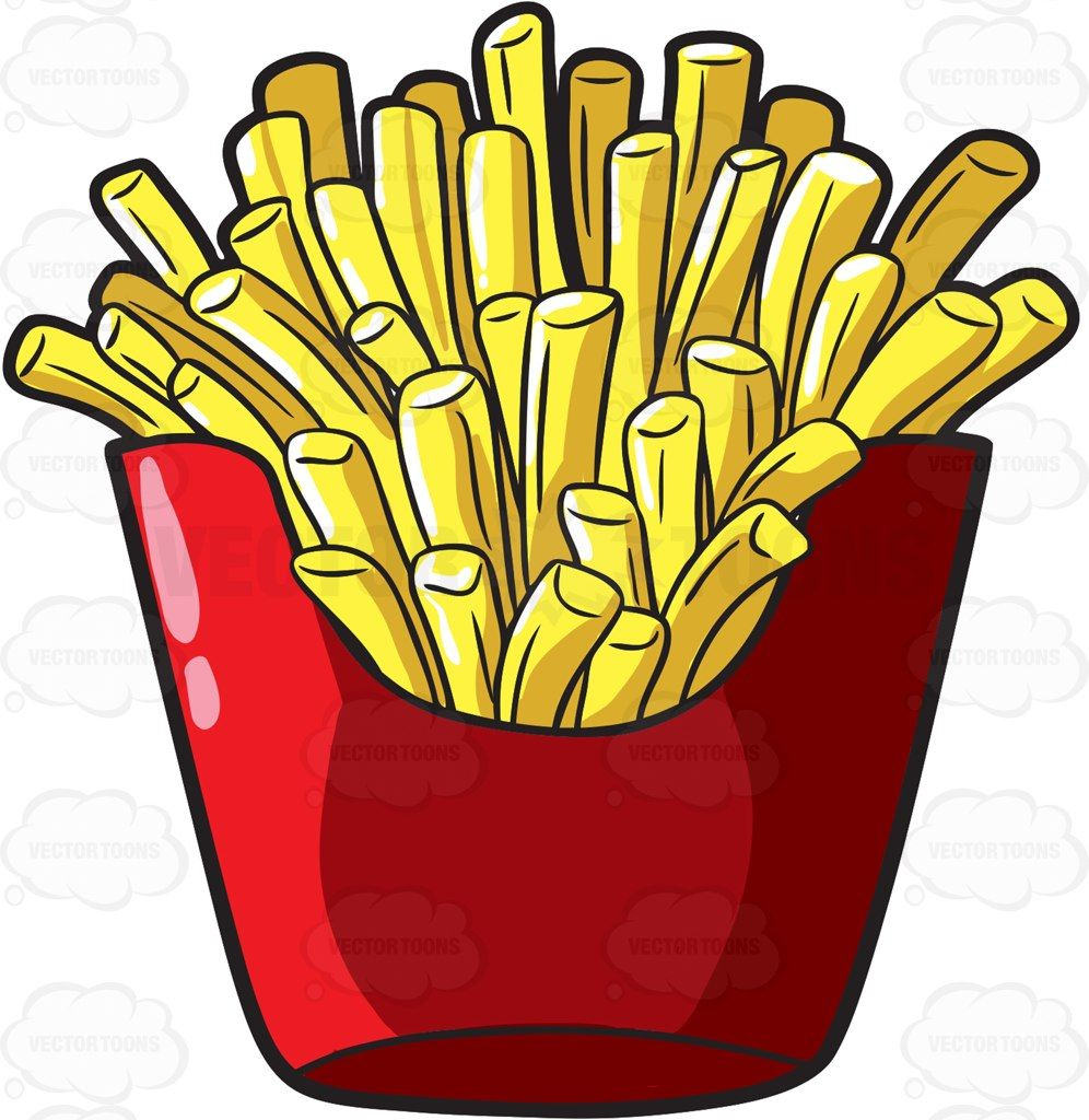 996x1024 A Serving Of French Fries From A Fast Food Chain Fast Food