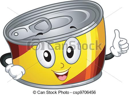 450x333 Clipart of Canned Food – 101 Clip Art