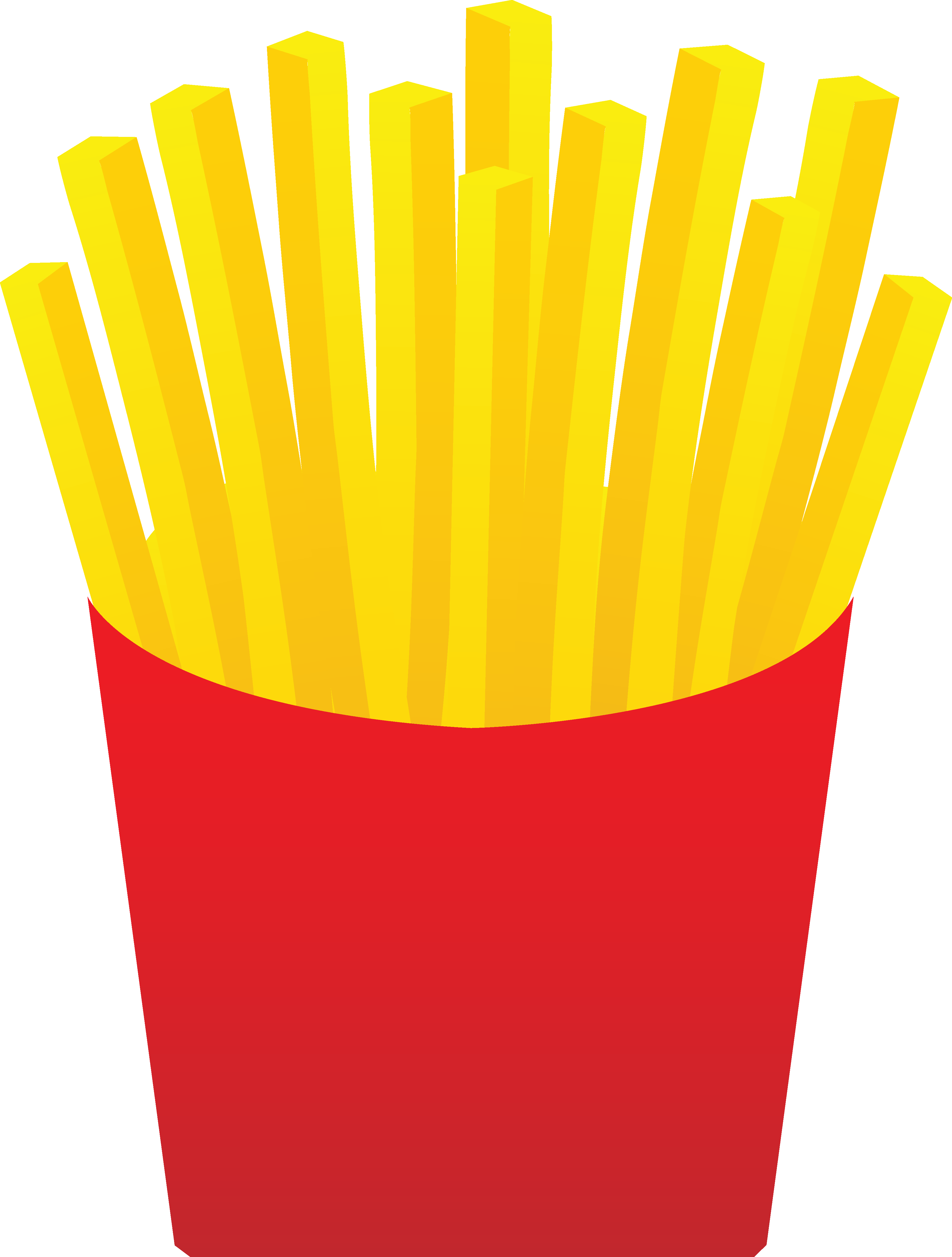 3762x4968 Fast Food French Fries